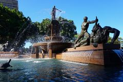 Archibald Fountain, Sydney Royalty Free Stock Image