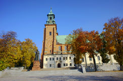 Archicathedral Basilica in Gniezno Royalty Free Stock Images