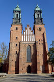 Archicathedral Basilica in Poznan Stock Photography