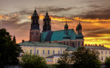 The Archicathedral Basilica of St. Peter and St. Paul in Poznan Royalty Free Stock Photo