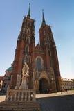 Archicathedral di Wroclaw Immagini Stock Libere da Diritti