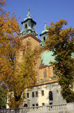 archicathedral gniezno βασιλικών Στοκ φωτογραφία με δικαίωμα ελεύθερης χρήσης