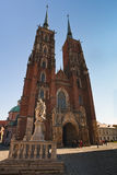 Archicathedral of Wroclaw Royalty Free Stock Images