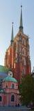 archicathedral wroclaw Στοκ Εικόνες