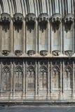 Archictural-Elemente von Girona-Kathedrale Stockfoto