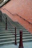 archiectural βήματα Στοκ Φωτογραφία