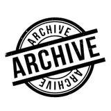 Archief rubberzegel royalty-vrije stock foto's