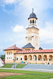 The Archiepiscopal Cathedral in Alba Iulia, Transylvania, Romani Royalty Free Stock Photography
