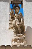 Archiepiscopal Palace. Manfredonia. Puglia. Italy. Stock Image