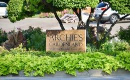 Archies Gardenland, Fort Worth, Τέξας Στοκ Φωτογραφίες