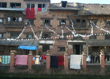 Archietectura Nepal Obraz Stock