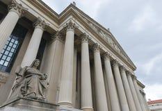 Archieven van het Gebouw van Verenigde Staten in Washington DC Royalty-vrije Stock Foto