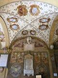 Archiginnasio, Μπολόνια Στοκ Εικόνες