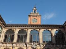 Archiginnasio στη Μπολόνια Στοκ Φωτογραφία