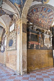 Archiginnasio της Μπολόνιας. Αιμιλία-Ρωμανία. Ιταλία. Στοκ εικόνα με δικαίωμα ελεύθερης χρήσης