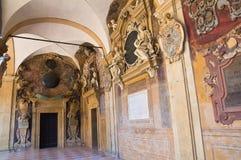 Archiginnasio της Μπολόνιας. Αιμιλία-Ρωμανία. Ιταλία. Στοκ Εικόνες