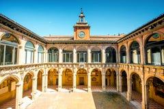Archiginnasio της Μπολόνιας Στοκ Φωτογραφίες