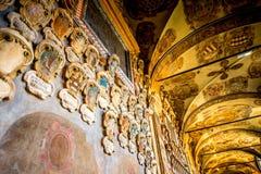 Archiginnasio της Μπολόνιας Στοκ Εικόνες