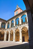 Archiginnasio of Bologna. Emilia-Romagna. Italy. Stock Photography