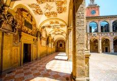 Archiginnasio of Bologna Royalty Free Stock Image