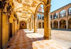 Archiginnasio of Bologna Royalty Free Stock Images
