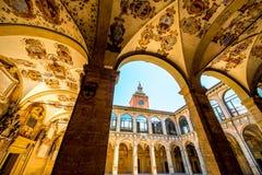 Archiginnasio Of Bologna Stock Images