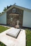 Archimandrite Pachomius-Grab im Kloster von St George in Pomorie Lizenzfreie Stockbilder