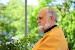 Archimandrite Siarhiej Hajek royaltyfria foton