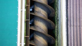 Archimedes Screw Stock Photo