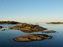 Archipel baltique Photo libre de droits