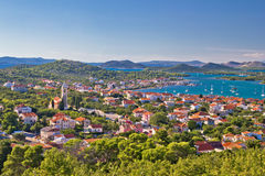 Archipel d'île Murter et de Kornati Photo libre de droits