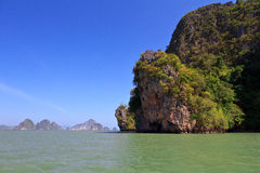 Archipel Ko Tapu d'îles de James Bond Images stock