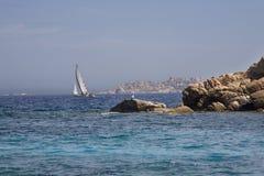 Archipel van La Maddalena, Sardinige Royalty-vrije Stock Fotografie