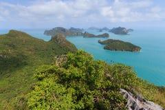 Archipel von Ang Thong Lizenzfreies Stockfoto