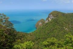 Archipel von Ang Thong Lizenzfreie Stockfotografie