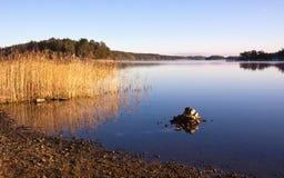 Archipel in Zweden. Stock Foto's
