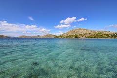 Archipelag - kryształ woda Fotografia Stock