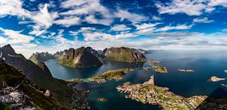archipelag lofoten Obraz Stock