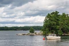 Archipelag na morza bałtyckiego wybrzeżu w Szwecja obrazy stock