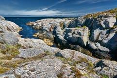 Archipelagmening van de Noorse Noordzeebaai Royalty-vrije Stock Foto