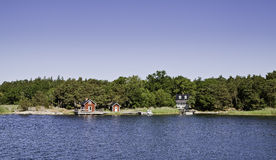 Archipelago. Swedish Archipelago in summer time Stock Photos