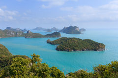 Archipelago of Ang Thong Stock Photography