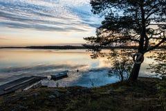 Archipelago on the Baltic Sea coast Stock Photography