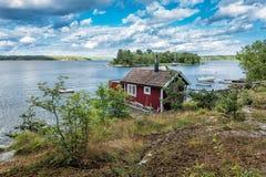 Archipelago on the Baltic Sea coast Stock Photos