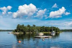 Archipelago on the Baltic Sea coast Royalty Free Stock Photography