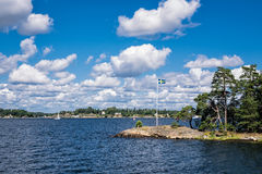 Archipelago on the Baltic Sea coast Royalty Free Stock Photos