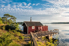 Archipelago on the Baltic Sea coast. In Sweden Stock Images