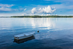 Archipelago on the Baltic Sea coast. In Sweden Royalty Free Stock Image