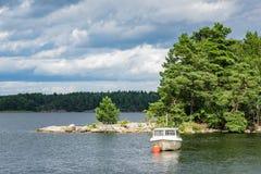 Archipelago on the Baltic Sea coast Stock Photo