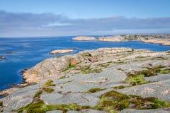 The archipelago of Bohuslän, Sweden Stock Image